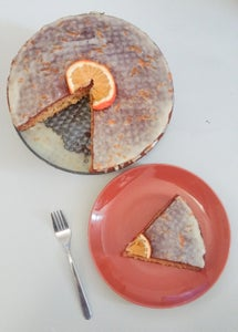 Orange Cake With Orange Icing - Vegan Recipe