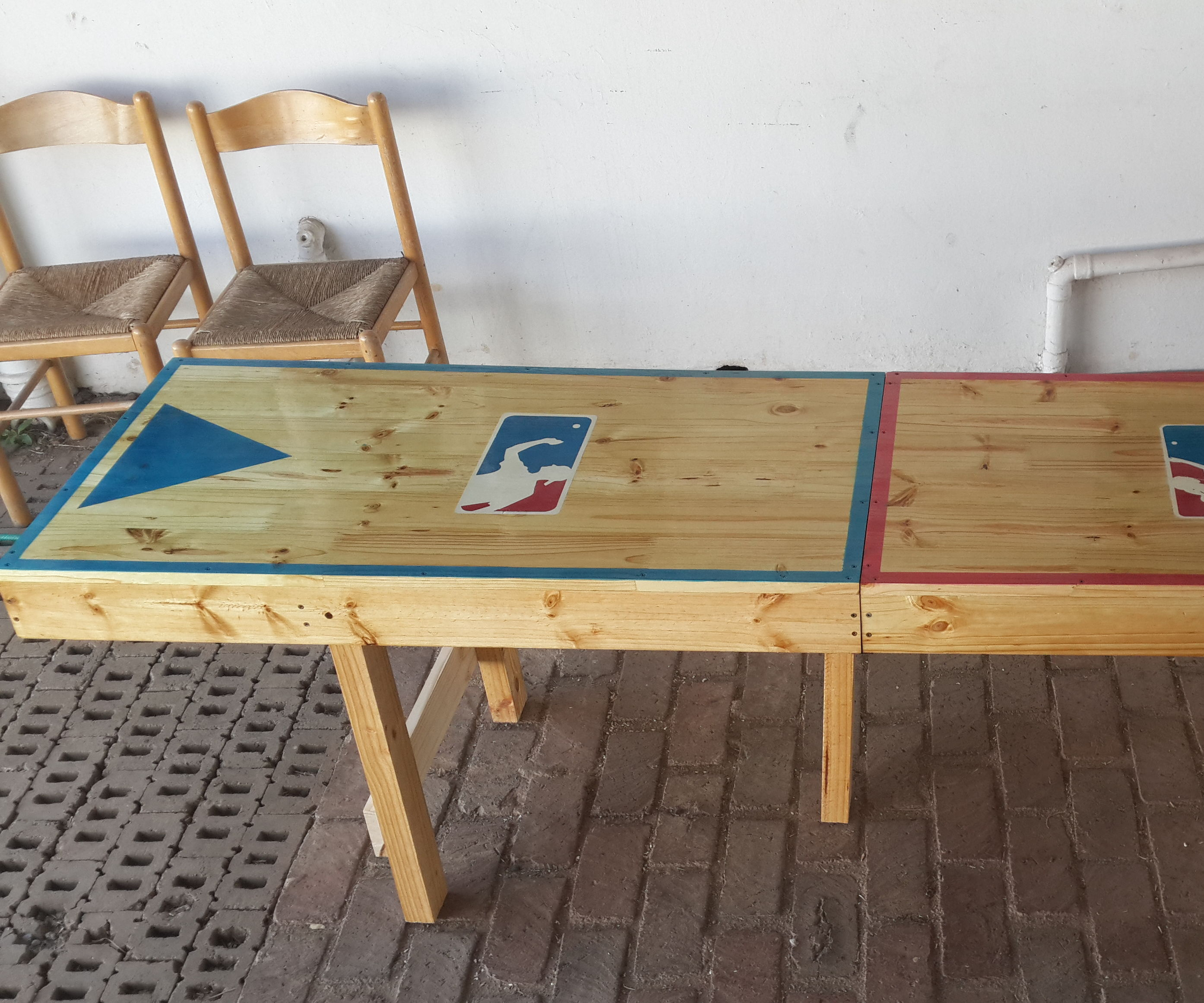 Portable Beer Pong Table 4 Steps With Pictures