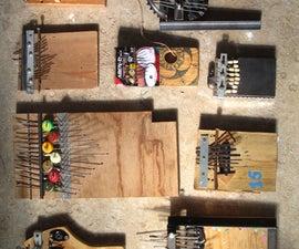 Trash Kalimba Musical Instrument
