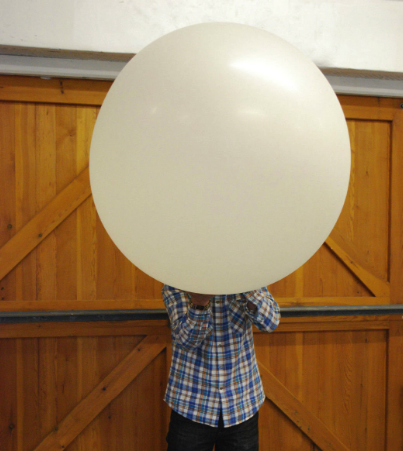 Picture of Step 1: Fill a 200g Balloon With HELIUM