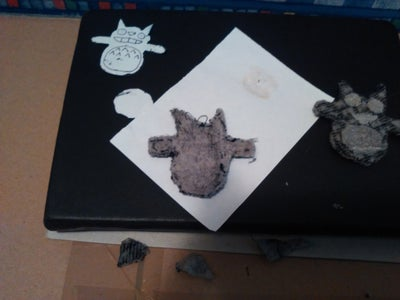 Making Totoro's Back