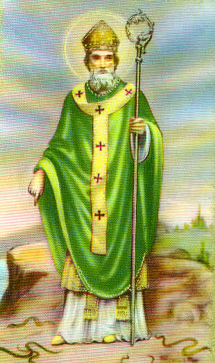 Picture of St Patricks Shamrock Aint a Clover