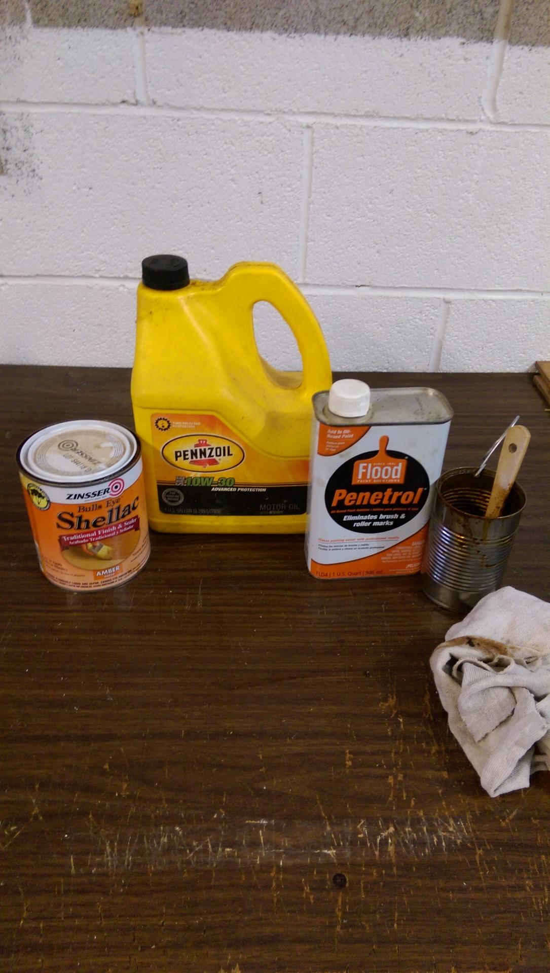 Picture of Rust Preventative Mixture