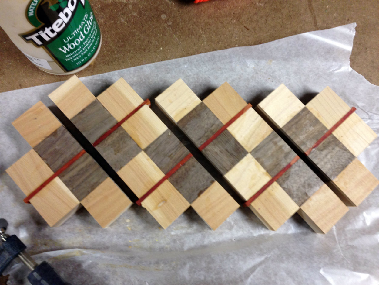 Picture of Glue-up #2