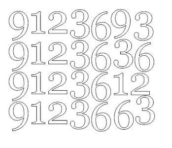 Cutting the Veneer Numbers