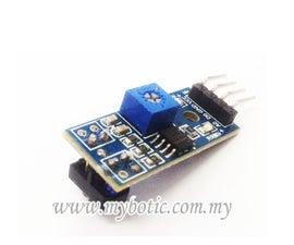 How to Use TCRT5000 IR Sensor Module With Arduino UNO