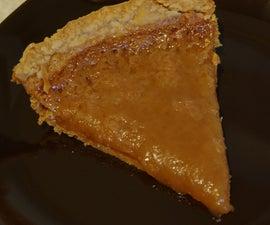 Original Old-time Quebec Sugar Pie