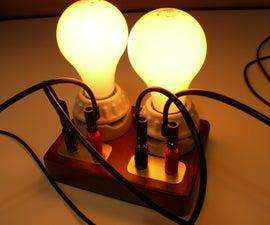 Old-World Light Bulb Load