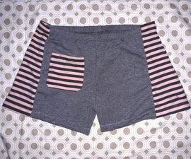 Transform Tight Leggings Into Fun Stretchy Shorts