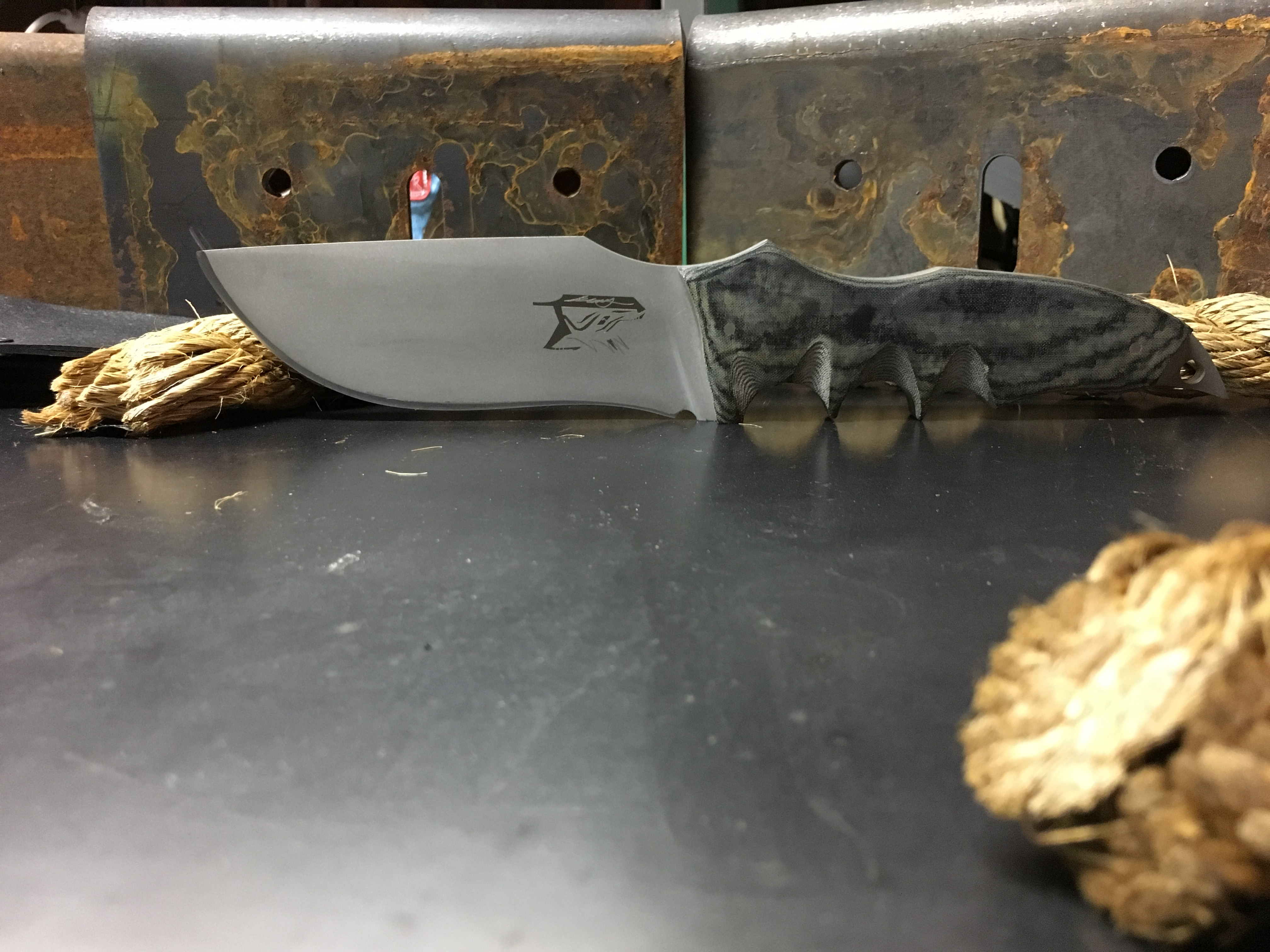 Picture of Hand Made Camp Knife