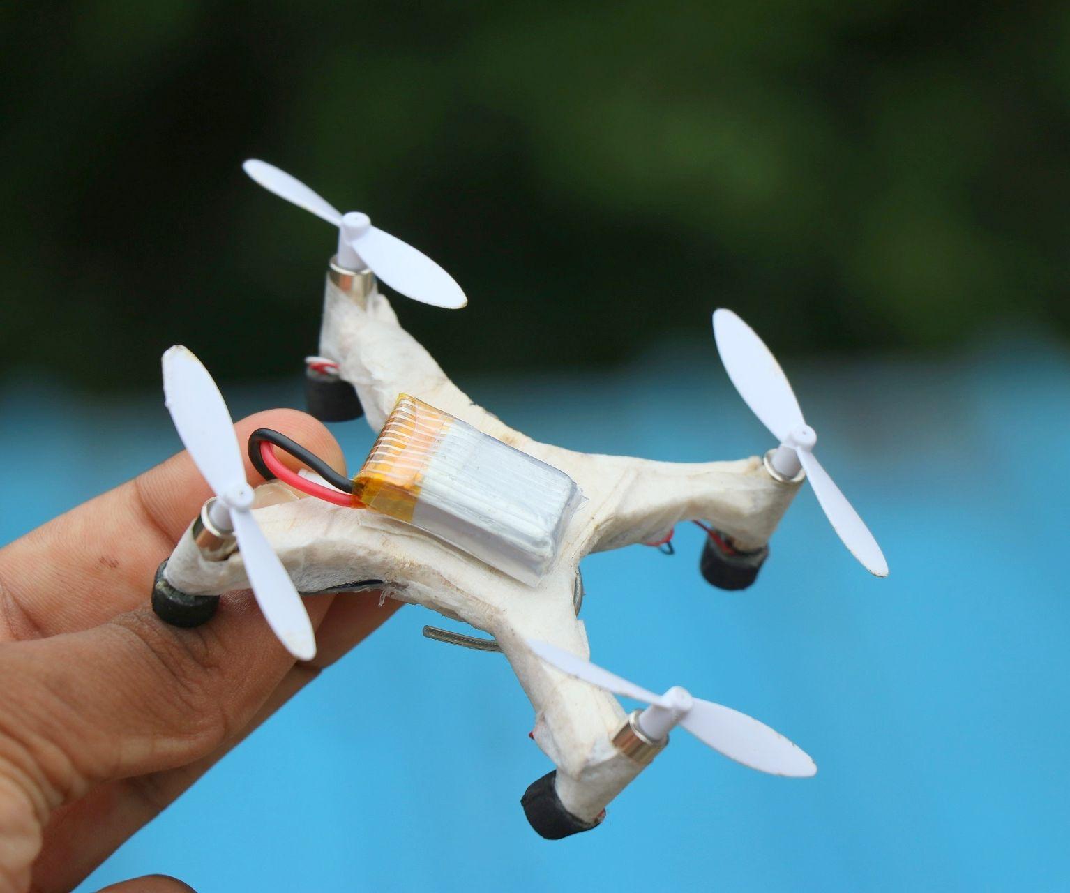 How to Make a Drone at Home - DIY Quadcopter: 5 Steps
