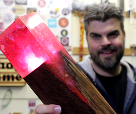 Making a Minecraft Torch
