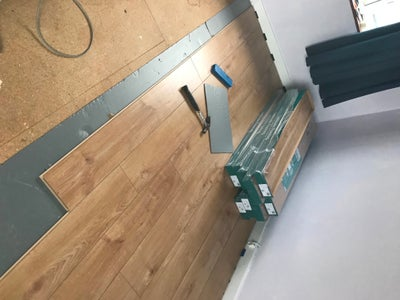 Laying the Flooring