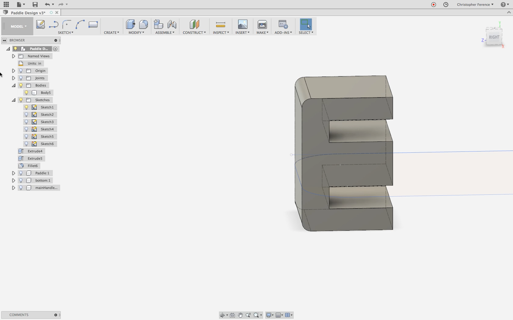 Picture of Add Slot for Clamp & Make Handle