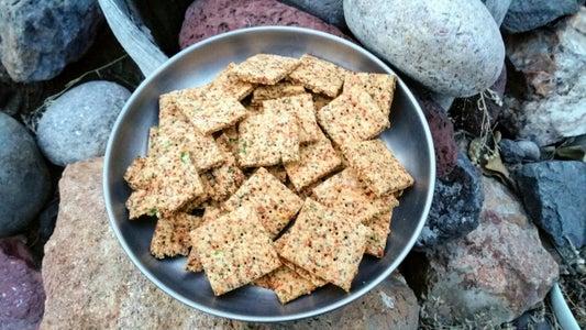 Chia & Chickpea Crackers