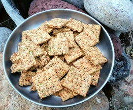 Chia & Chickpea Crackers
