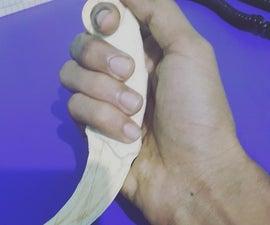 Karambit Knife CS:Go Build It With Popscile Sticks