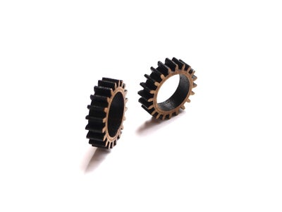 Make Your Own Fidget Rings - DIY Wood Gear Rings