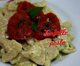 Farfalle Pesto of Basil