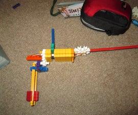 knex rubber band gun (RBG) MY ORIGINAL DESIGN