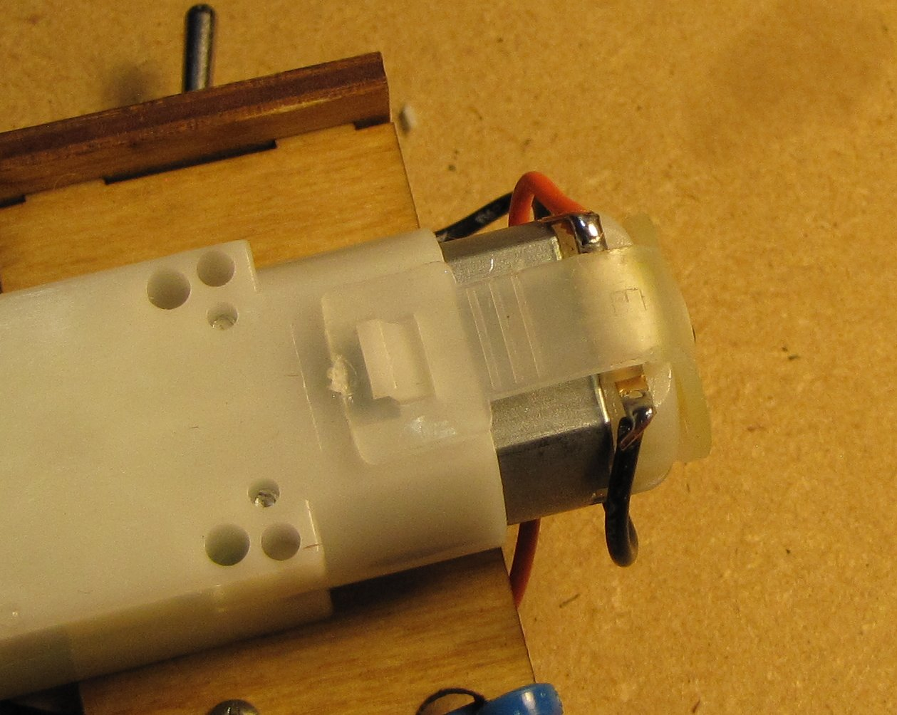 Picture of Solder the Motor