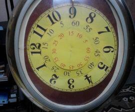 Rotating Dial Clock