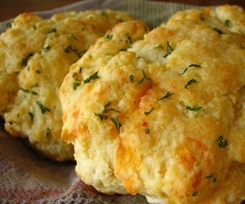 How to : Cheddar Biscuits