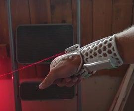 Wrist Mounted Laser Gauntlet Prototype