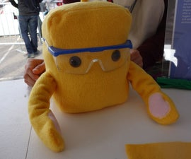Hugbot - A Soft Robot Who Gives Small Hugs