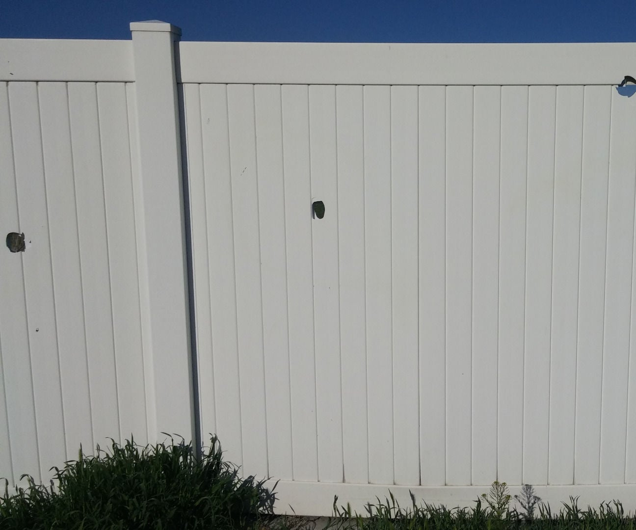 Diy Vinyl Fence Repair