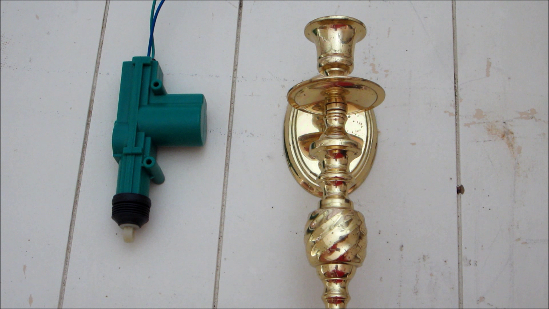 Picture of Use a Candlestick to Activate an Electrical Switch