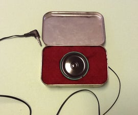 How to Make Altoids Tin Speakers