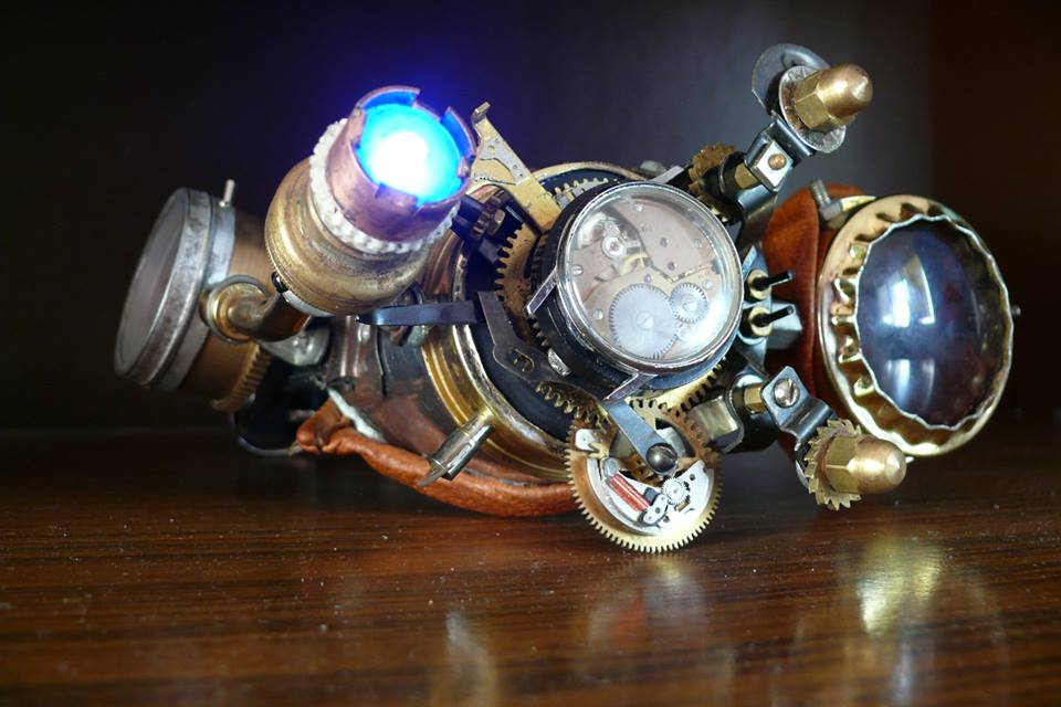 Picture of Steampunk Google