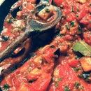 Imam Bayildi (Middle Eastern Aubergine & Tomato)