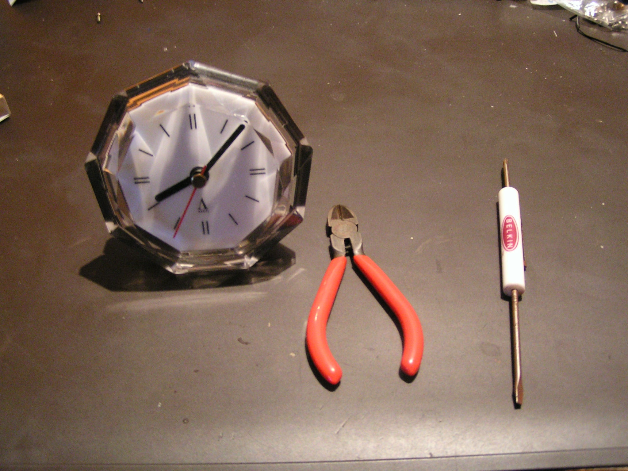 Reverse Clock 5 Steps Timer From Old Quartz Electronics For You