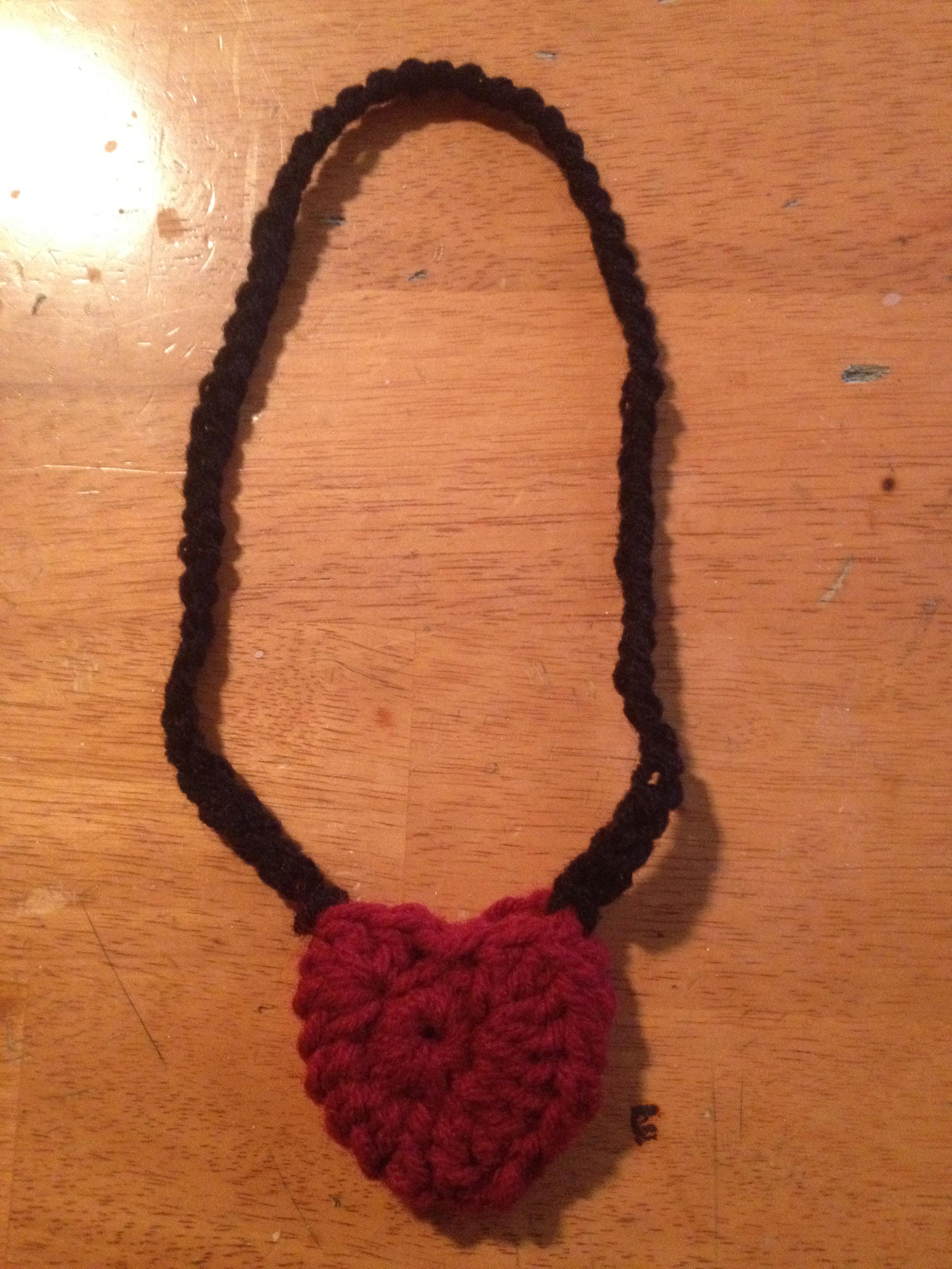 Picture of Crochet Heart Money Locket