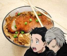 Yuri on Ice Pork Cutlet Bowl (Pork Katsudon)
