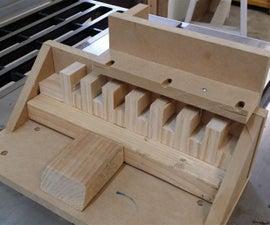 Super Simple, Single Blade Box (Finger) Joint Jig