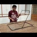 Metal Folding and Adjustable Chair Frame for Meditation