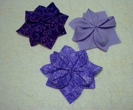 Fabric Origami Quilt Block