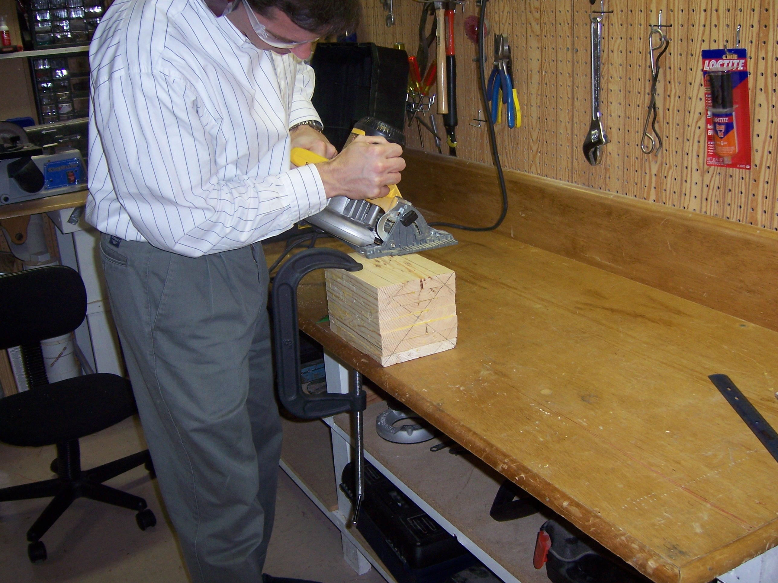 Picture of Mount It on the Lathe