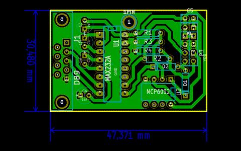 RS232, TTL and LVTTL Serial Communications Board