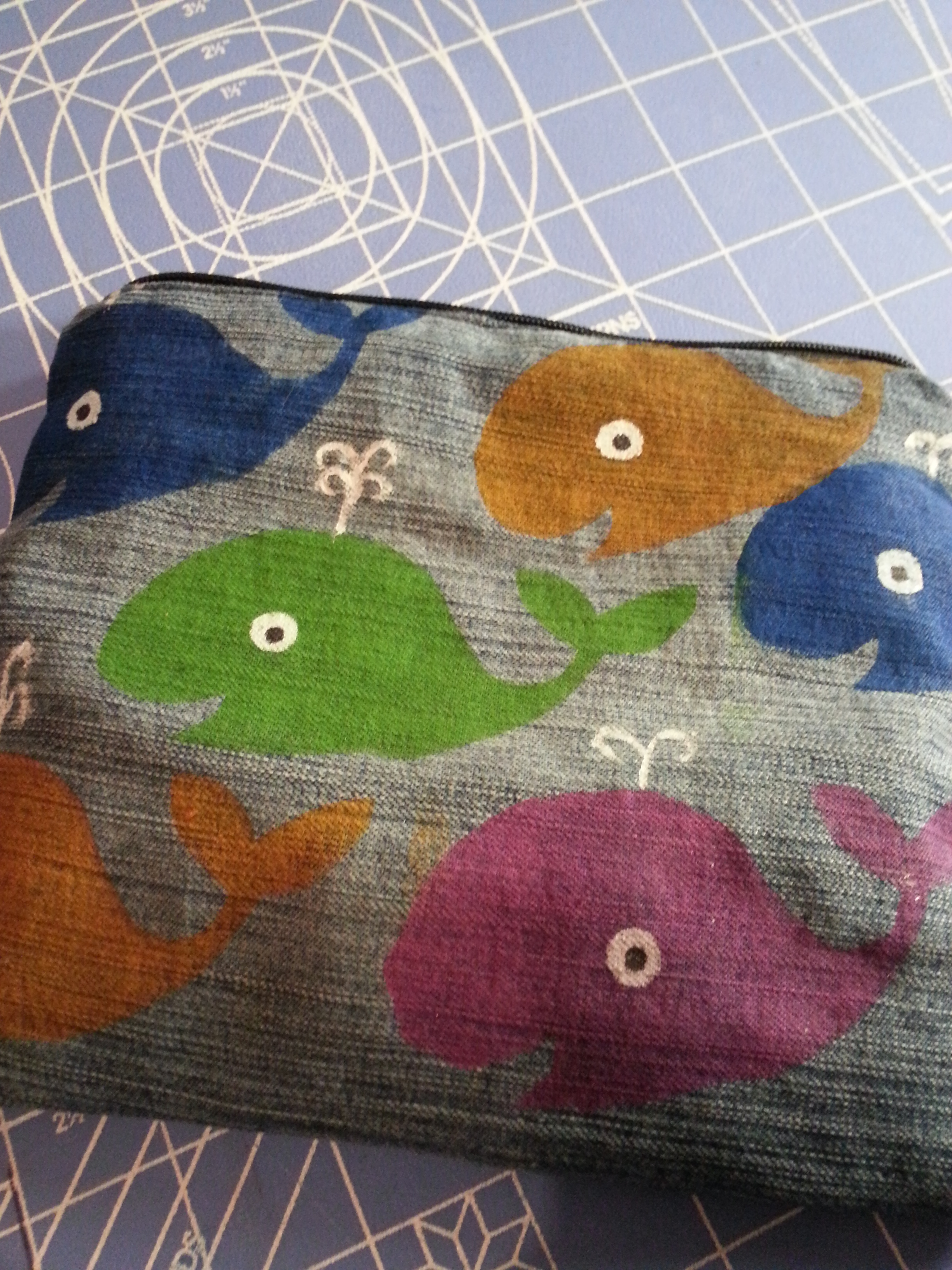 Picture of Whale Pencil Bag