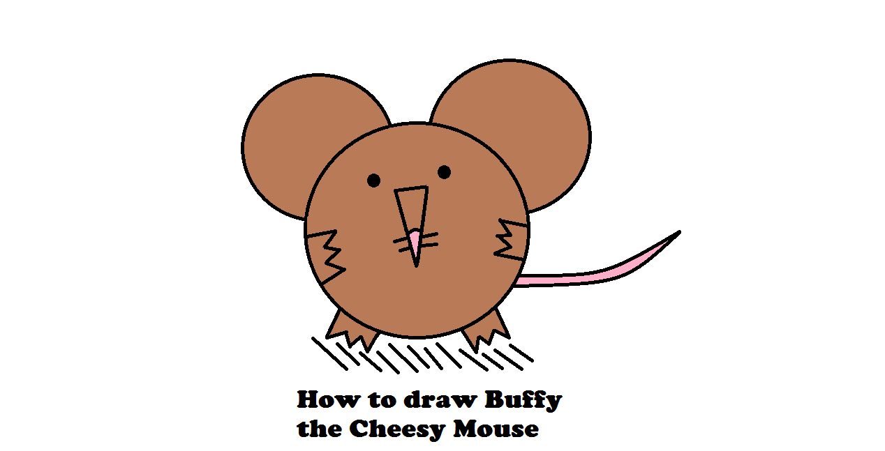 Picture of How to Draw Buffy the Cheesy Mouse