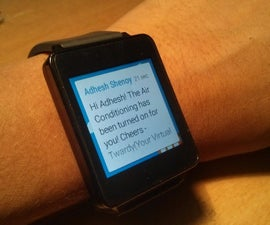 ( Wrist-watch enabled) Home automation via Twitter