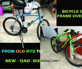Bicycle Steel Frame Overhaul