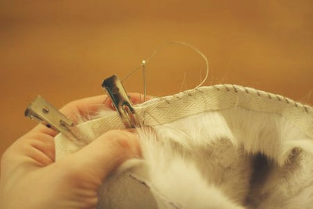 Sewing Fur to Fabric