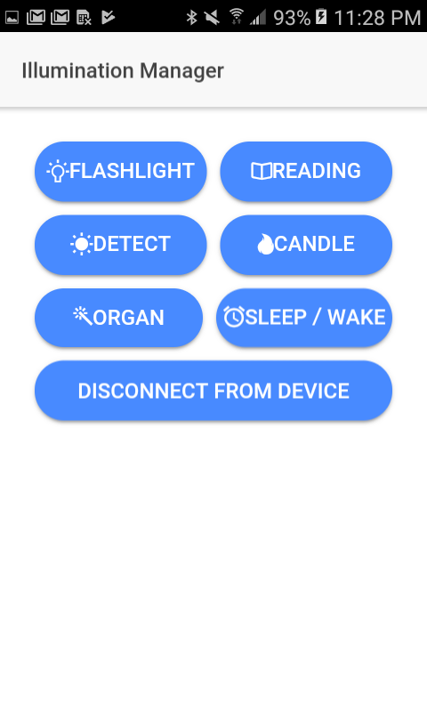 Picture of Personal Light Manager App