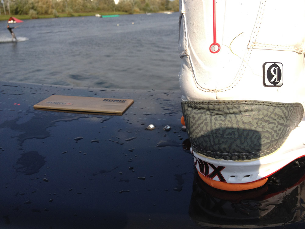 Picture of Wakeboard Repaired Using Sugru