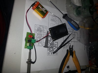 Simple Amplifier With TDA2822M